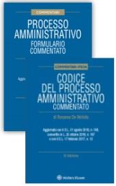 Processo amministrativo: Codice + Formulario commentato