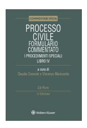 Processo civile - Formulario commentato - I Procedimenti speciali