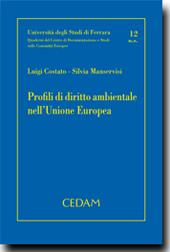 Profili di diritto ambientale nell' Unione Europea