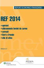 REF 2014 - Vol. 2: Agrumi, allevamento bovini da carne, cereali, fiori e fronde, olio di oliva