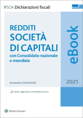 Redditi Società di capitali - 2018