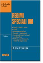 Regimi speciali IVA