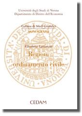 Regioni e ordinamento civile