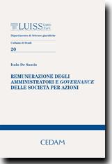 Remunerazione degli amministratori e governance delle società per azioni
