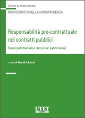 Responsabilità pre-contrattuale nei contratti pubblici