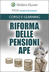 Riforma delle pensioni - APE