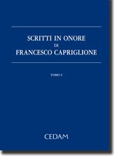 Scritti in onore di Francesco Capriglione
