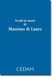 Scritti in onore di Massimo di Lauro
