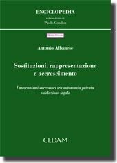 Sostituzioni, rappresentazione e accrescimento
