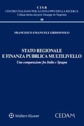 Stato regionale e finanza pubblica multilivello.