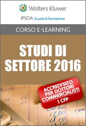 Studi di settore 2016