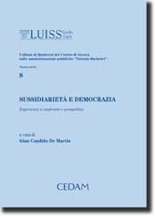Sussidiarietà e democrazia