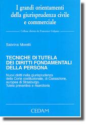 Tecniche di tutela dei diritti fondamentali della persona
