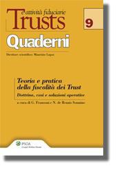 Teoria e pratica della fiscalità dei Trust