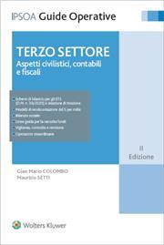 Terzo settore - Aspetti civilistici, contabili e fiscali