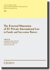 The External Dimension of EC Private International Law in Family and Succession Matters