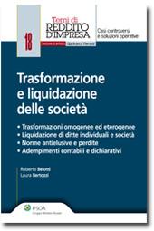 Trasformazione e liquidazione delle società
