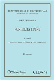 Trattato breve di diritto penale. Parte generale - Vol. II: Punibilità e pene