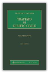 Trattato di diritto civile. Volume II