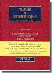 Trattato di diritto commerciale - Vol. III: Società di persone e consorzi.