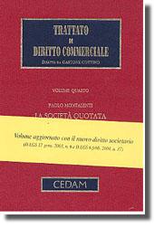 Trattato di diritto commerciale - Vol. IV, Tomo II: La società quotata