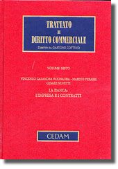 Trattato di diritto commerciale - Vol. VI: La banca: l'impresa e i contratti.
