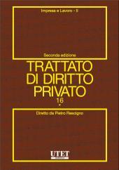 Trattato di diritto privato. Vol. XVI - Impresa e lavoro. Tomo I