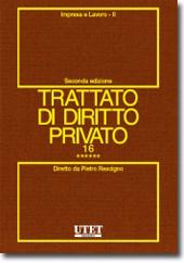 Trattato di diritto privato. Vol. XVI - Impresa e lavoro. Tomo VI