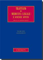 Trattato di medicina legale e scienze affini. Vol IX - Aggiornamento