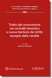 Tutela del consumatore nei contratti telematici e nuove frontiere del diritto europeo della vendita