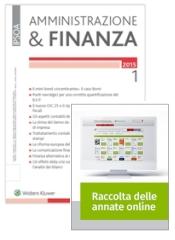 Tutto Amministrazione & Finanza: Rivista + Raccolta annate on line