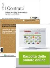 Tutto Contratti: Rivista + Raccolta annate on line