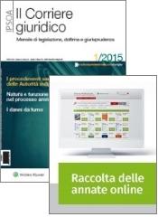 Tutto Corriere Giuridico: Rivista + Raccolta annate on line
