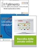 Tutto Fallimento: Rivista + Raccolta annate on line