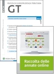 Tutto GT Giurisprudenza Tributaria: Rivista + Raccolta annate on line
