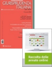 Tutto Giurisprudenza Italiana: Rivista + Raccolta annate on line