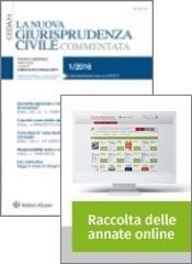 Tutto La Nuova Giurisprudenza Civile Commentata: Rivista + Raccolta annate on line