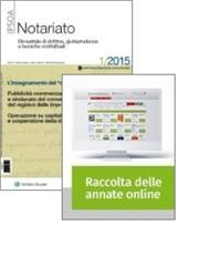 Tutto Notariato: Rivista + Raccolta annate on line