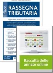 Tutto Rassegna Tributaria: Rivista + Raccolta annate on line