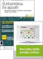 Tutto Urbanistica e appalti: Rivista + Raccolta annate on line