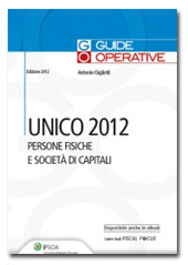 UNICO 2012 - Persone fisiche e Società di capitali