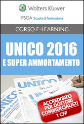 UNICO 2016 e Super ammortamento