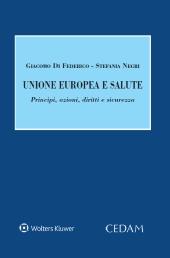 Unione europea e salute. Principi, azioni, diritti e standard qualitativi