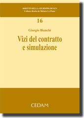 Vizi del contratto e simulazione