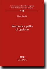Warrants e patto di opzione