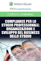 Webinar - Organizzazione e sviluppo del business dello studio professionale  (crediti obbligatori)