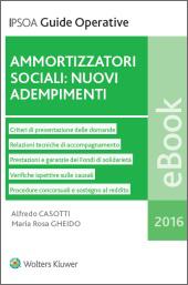 eBook - Ammortizzatori sociali: nuovi adempimenti