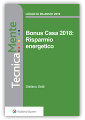eBook - Bonus Casa 2018: Risparmio energetico