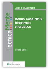 Bonus Casa 2018: Risparmio energetico - eBook