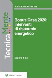eBook - Bonus Casa 2020: interventi di  risparmio energetico